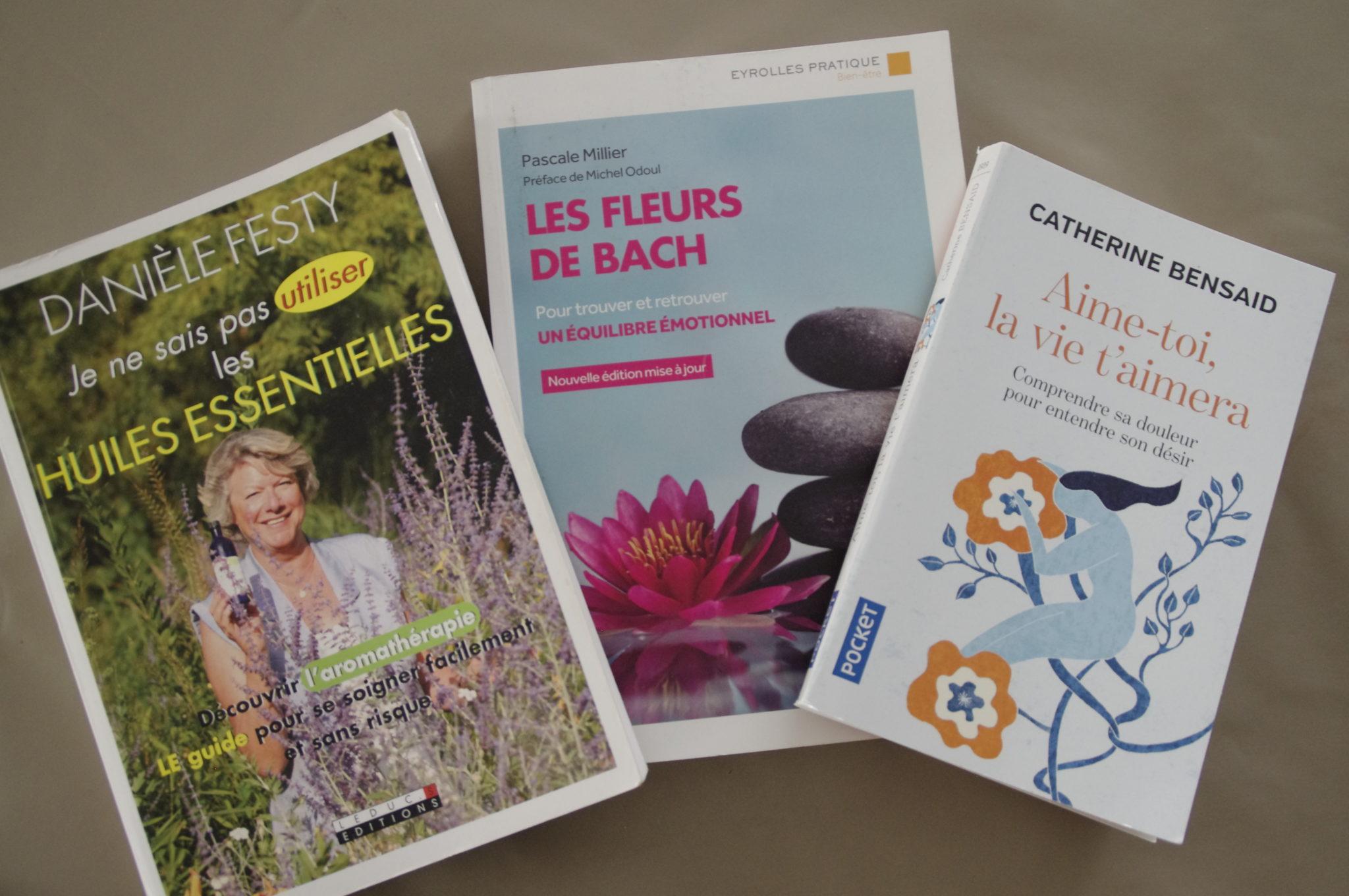 mes 3 livres références