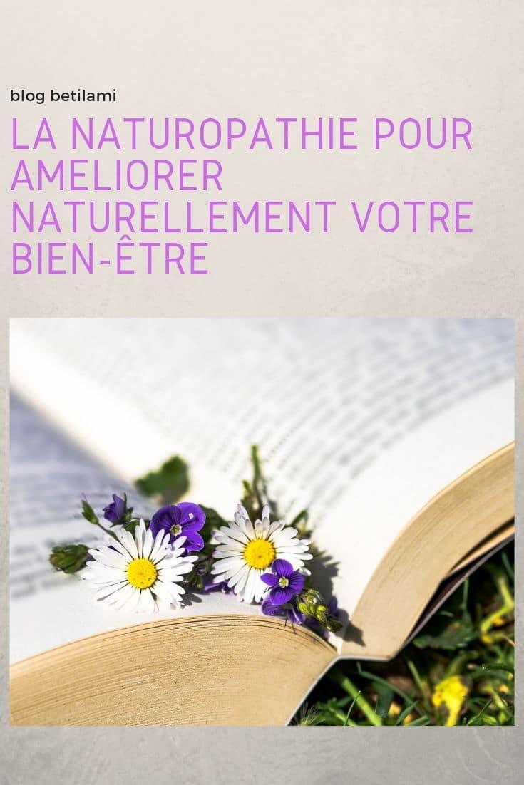 La naturopathie pour améliorer naturellement votre bien-être