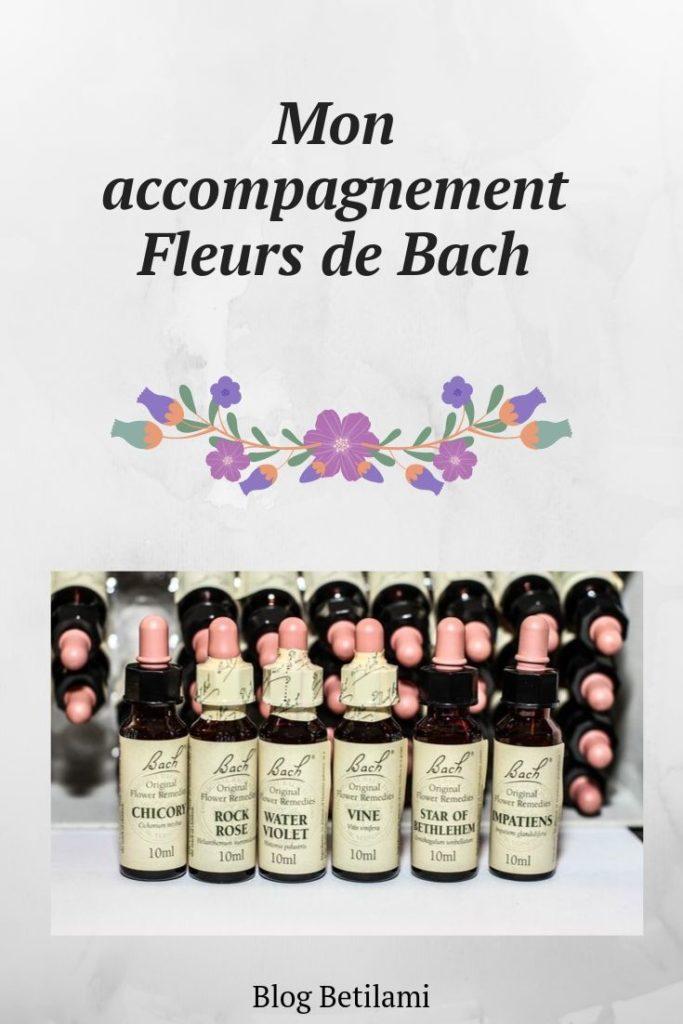 Mon accompagnement Fleurs de Bach - Betilami